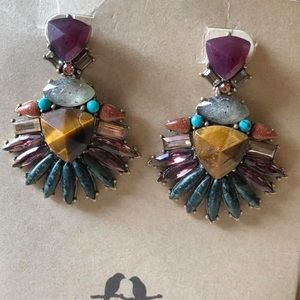 Wild Earth Convertible Statement Earrings